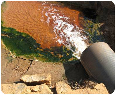 Discharge into a water resource